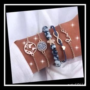 Jewelry - Super cute love turtle bohemian bracelet